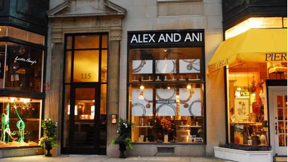 Alex and Ani Newbury Storefront